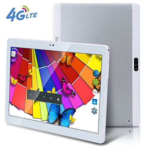 2017 Newest 4G LTE 10.6 10 inch tablet PC Android 6.0 Octa Core 4G RAM 64G ROM WIFI GPS 7 8 9 4G Dual sim card Phone Call Tablets silver -  bestenme, bst-t900
