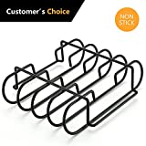 ULKNN Rib Racks BBQ- Non-Stick-Outdoor Grill BBQ Accessories