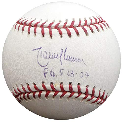 Randy Johnson Autographed Signed Memorabilia Official MLB Baseball New York Yankees, Seattle Mariners P.G. 5-18 -04 Steiner Holo 147931 - Certified - Baseball Steiner Randy Johnson