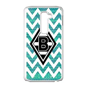 LG G2 Phone Case for Classic theme Borussia Dortmund BVB 09 Logo pattern design GCTBDBVB842743