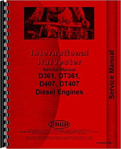 International Harvester E200 Elevating Scraper Engine Service Manual (SN# ()