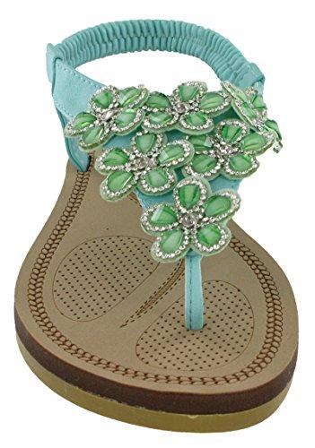 Savannah - Zapatos de tacón  mujer verde menta