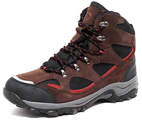 Herren ECHT LEDER Trekking & Wanderstiefel Outdoorstiefel Jagdstiefel Allterrain Schuhe Boots Gr. 43-45 WASSERDICHT