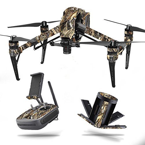 MightySkins Skin for DJI Inspire 2 - DRT | Protective, Durable, and Unique Vinyl Decal wrap Cover | Easy to Apply, Remove, and Change Styles | Made in The USA