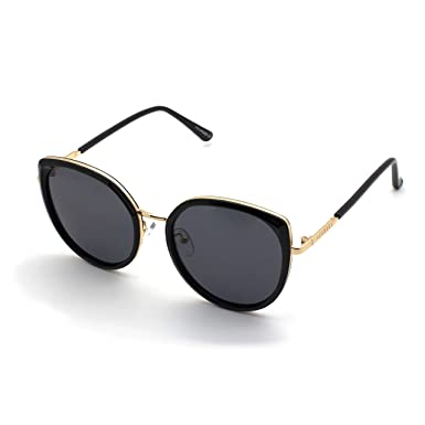 PERXEUS CANNES - Gafas de Sol para mujer. Cómodas y Resistentes - Protección UV400 + Lentes Polarizadas. [Talla Grande]