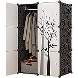 ZZF Combination Wardrobe Simple Wardrobe Modern Economic Plastic Space Space Sliding Door Bedroom Assembly Locker Dormitory S