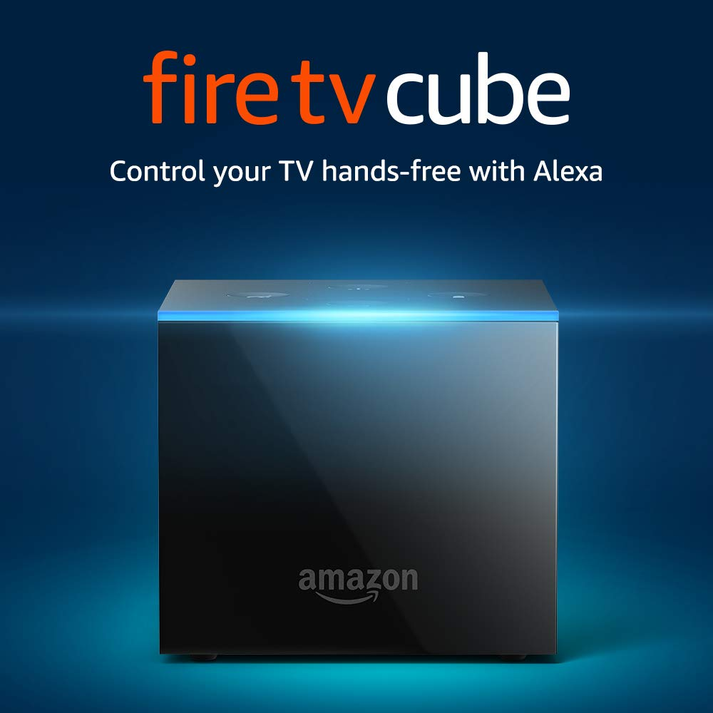 Amazon.com: Fire TV Cube | Hands-Free with Alexa and 4K Ultra HD ...