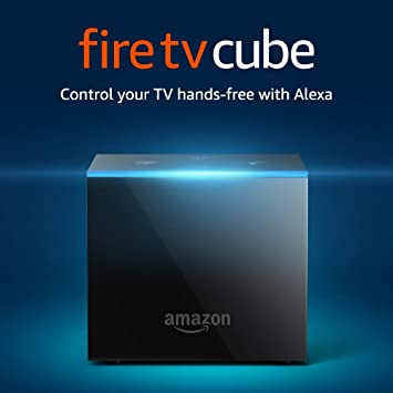 Amazon Com Fire Tv Cube Hands Free With Alexa And 4k Ultra Hd