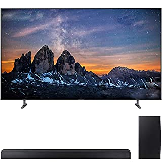 "Samsung QN82Q80RA 82"" Q80 QLED Smart 4K UHD TV (2019 Model) with Samsung 370W Virtual 5.1.2-Channel Soundbar System with Wireless Subwoofer - (HWQ80R)"