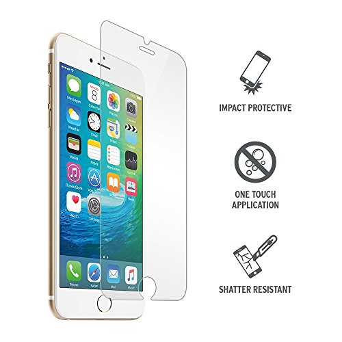 135c2b10106 Proporta Highly Protective Ultra-Tough Tempered Glass Screen Protector for  iPhone 6 Plus / 6S