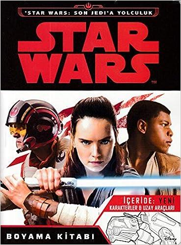 Star Wars Son Jedi A Yolculuk Boyama Kitabi Collective