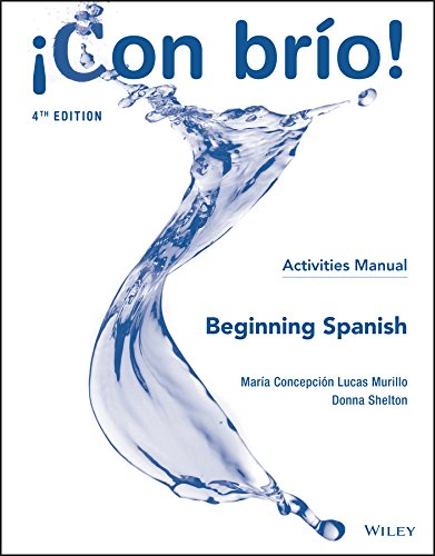 Con bro Beginning Spanish Activities Manual (Spanish Edition)