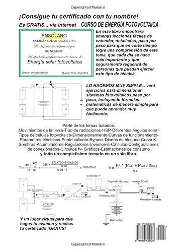 Manual de Energia Fotovoltaica: Amazon.es: Daniel Trippi, Sarah Andrea Alberto Velez: Libros