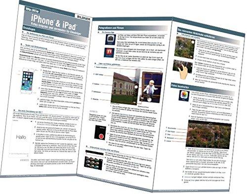 iPhone und iPad - Fotos knipsen und versenden: Einrichten und Nutzen leicht gemacht Taschenbuch – Folded Map, 15. Dezember 2013 Michael Krimmer BILDNER Verlag GmbH 3832800921 Hardware