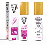 Facial Fillers Under Eye Bags - Organic Eye Serum Cream Treatment for Dark Circles and Puffy Bags Puffiness Wrinkle Under Eyes Gel Anti Aging Men Bag Circle Remover Firming Coffee Caffeine Makeup Mask Pure Beauty Products Wrinkles