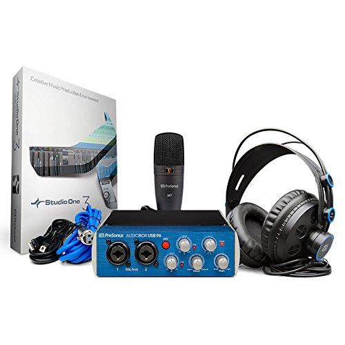 PreSonus AudioBox 96 Studio USB 2.0 Recording Bundle with Interface, Headphones, Microphone and Studio One software by PreSonus (Image #5)