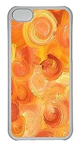 iPhone 5C Cases & Covers - Orange Memories Custom PC Soft Case Cover Protector for iPhone 5C - Transparent