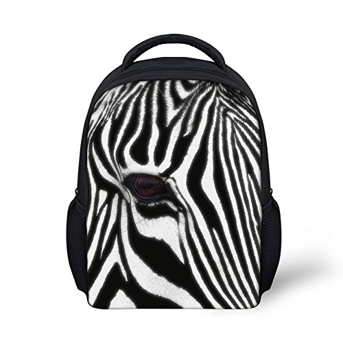 WHEREISART Harajuku Style Satchel Boy Girls Mini Horse Print Bookbag Backpack -
