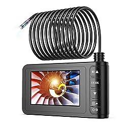 Industrie Endoskop, SKYBASIC 1080P HD Digitale Endoskopkamera Wasserdicht 4,3 Zoll LCD-Bildschirm Schlangenkamera…