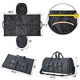 Carry-on Garment Bag Large Duffel Bag Suit Travel