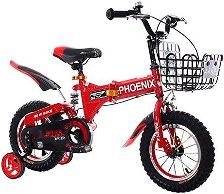 Bxiao Bicicleta para niños, Bicicleta de Pedales para niños de 2 a ...