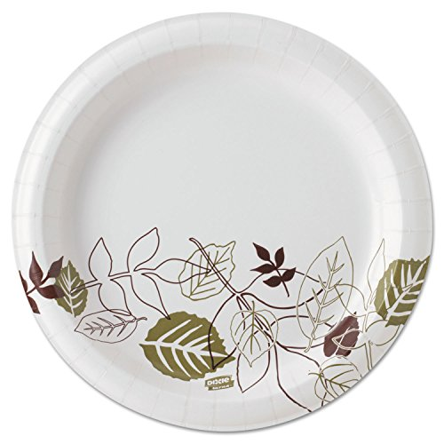 """Dixie Ultra 8.5""""Heavy-Weight Paper Plates by GP PRO 8.5in, Pathways"""