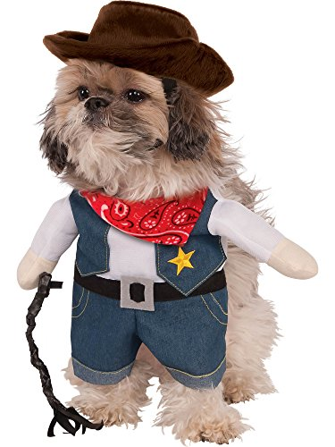 Rubie's Walking Cowboy Pet Costume, Small]()