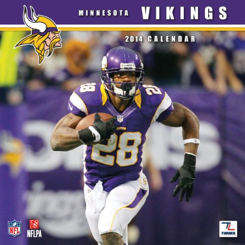 Minnesota Vikings 2014 en el momento perfecto Turner Mini calendario de pared (8040414)
