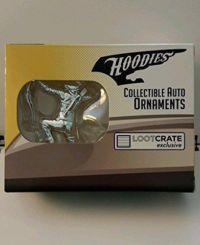 NIB LootCrate Exclusive 2016 The Arrow Hoodies Collectible Auto Hood Ornament (Ornament Arrow Christmas)