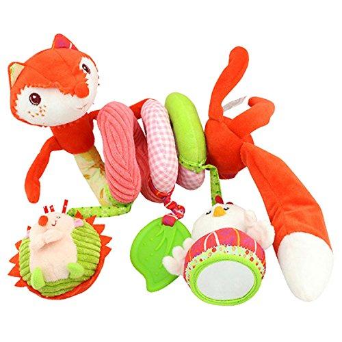 Happy Cherry Baby Crib Bed Stroller Hanging Toy Pram Activity Spiral Toy