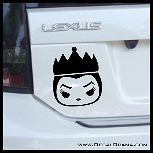 Evil Queen Chibi, Snow White Villain, Vinyl Car/Laptop Decal ()