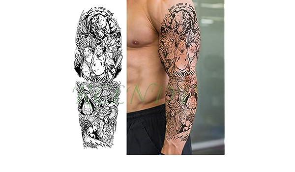 5pcs Impermeable Etiqueta engomada del Tatuaje de Eagle Casco ...