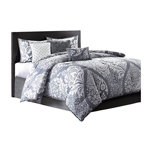 King Size Comforter Set In Modern Paisley Prints On Sale