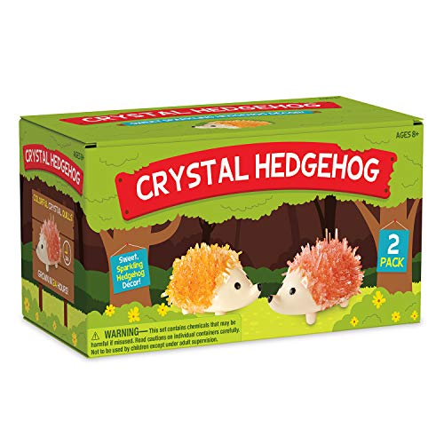 MindWare Crystal Creations: Hedgehog - Create A Sparkling Hedgehog Decor!