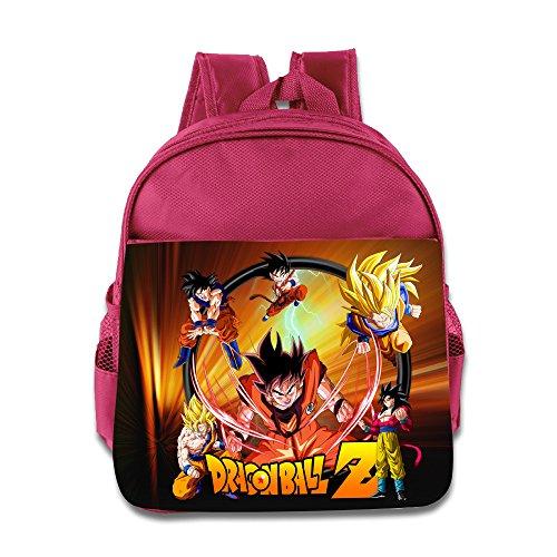 Render Dragon Ball Z Goku Children School Pink Backpack Bag (Goku Children)