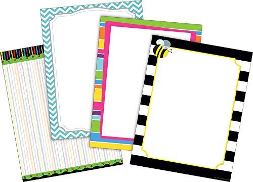 (Barker Creek Paper Set - Chevron & Stripes (4 Designs) (BC3723) )