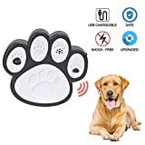 Ultrasonic Anti Barking Device Sonic Bark Control Deterrents Stop Dog Barking, Safe for Dogs, Pets and Human, Outdoor Birdhouse Shape up to 50 Feet Range, Hanging or Mounting (White)