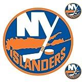 NHL New York Islanders Wallmarx Hockey Wall Accent Set