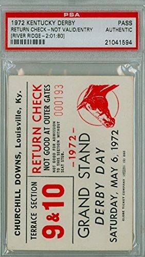 kentucky derby ticket stub - 2