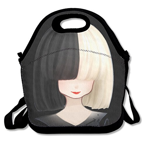 Black Fashion Sia OnlySee Lightweight Unisex Lunch Tote Bag For Woman Man Kid (Morris Dancers Costumes)