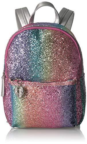 [해외]벳세이 존슨 레인보우 글리터 미니 백팩 / Betsey Johnson Rainbow Glitter Mini Backpack