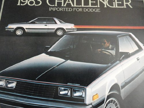 1983 Dodge Challenger Sales Brochure