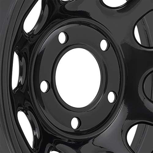Pro Comp ProComp Alloys Wheel Rim Hub Cover Flat Matte Black Center Cap S507-17
