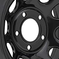 Pro Comp Steel Wheels Series 52 Wheel with Flat Black Finish (15x8