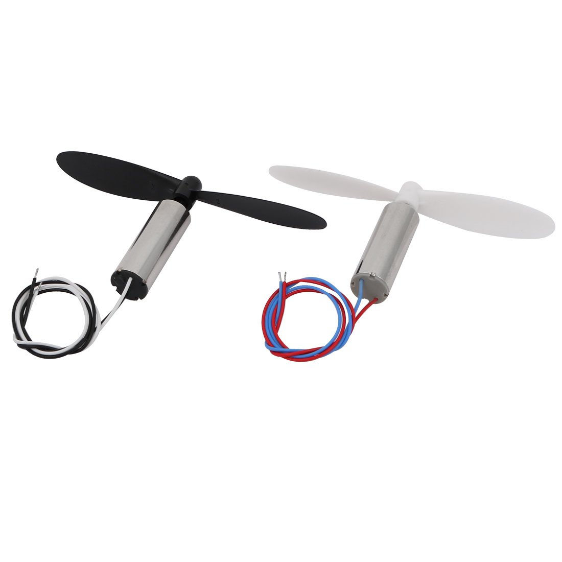 uxcell 2pair DC3.7V 27000RPM Clockwise Anti-clockwise 7mm x 20mm Hollow Cup Motor w Propeller by uxcell (Image #3)