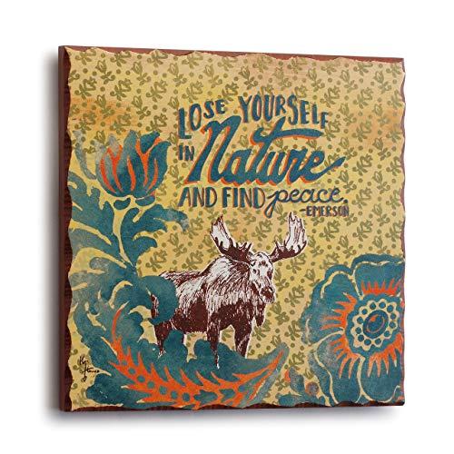 (DEMDACO Big Sky Carver Nature Moose Plaque)
