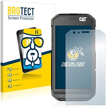 BROTECT Protector Pantalla Cristal Compatible con Caterpillar Cat ...
