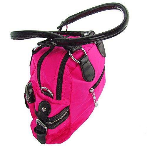 Tracolla A Tracolla Cabaara Design Rosa Con Tracolla Lunga T-945
