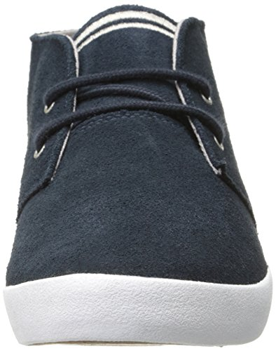 Fred Perry - Fred Perry Byron Mid Suede, color azul marino y plateado Hombre Azul - azul