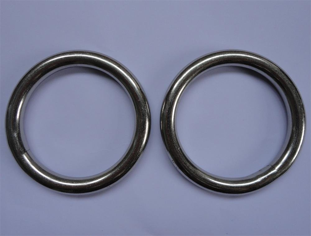 Metal O Ring 2'' (Inside Diameter)x1/4'' (Wire Diameter)stainless Steel 2pk ,generic by JingYi (Image #1)